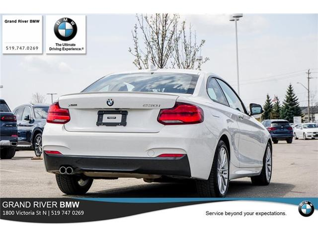 2018 BMW 230i xDrive (Stk: PW4860) in Kitchener - Image 7 of 22