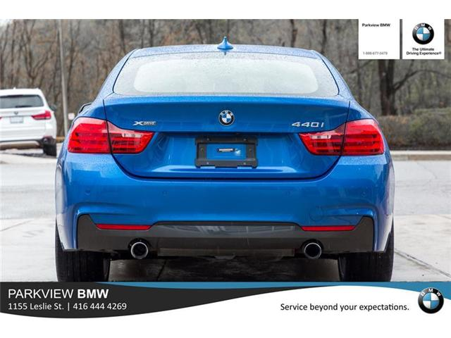 2017 BMW 440i xDrive Gran Coupe  (Stk: PP8526) in Toronto - Image 6 of 20