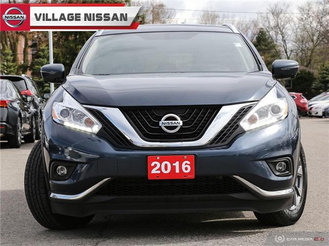 2016 Nissan Murano SL (Stk: P2806) in Unionville - Image 2 of 27