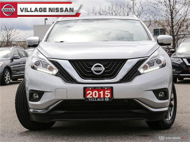2015 Nissan Murano SL (Stk: 90223A) in Unionville - Image 2 of 27