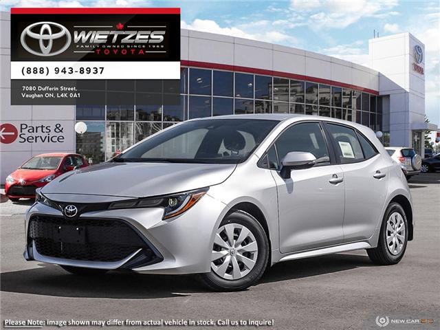2019 Toyota Corolla Hatchback CVT (Stk: 68759) in Vaughan - Image 1 of 24