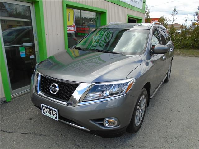 2015 Nissan Pathfinder SV (Stk: ) in Sudbury - Image 2 of 6