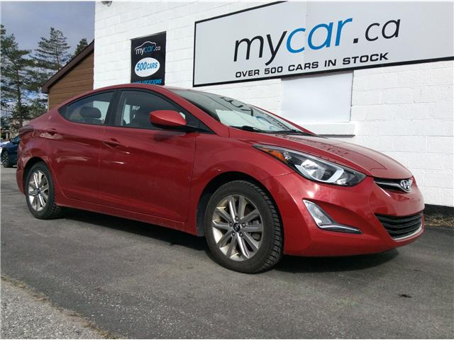 2015 Hyundai Elantra Sport Appearance (Stk: 190544) in North Bay - Image 1 of 20