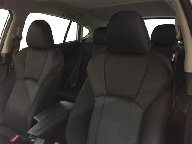 2017 Subaru Impreza Touring (Stk: P277) in Newmarket - Image 17 of 18