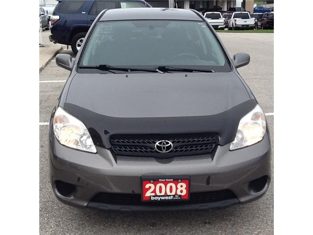 2008 Toyota Matrix XR (Stk: 19165a) in Owen Sound - Image 2 of 4