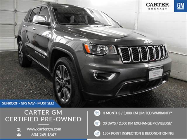 2018 Jeep Grand Cherokee Limited (Stk: P9-58290) in Burnaby - Image 1 of 23