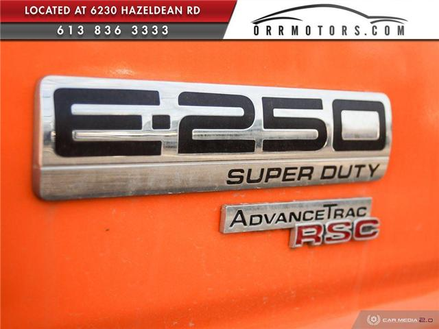 2013 Ford E-250 Commercial (Stk: 5520) in Stittsville - Image 11 of 12