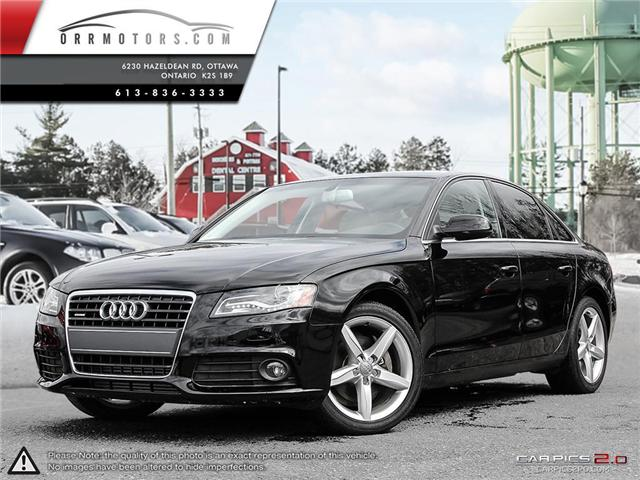 2012 Audi A4 2.0T Premium (Stk: 5717-1) in Stittsville - Image 1 of 25