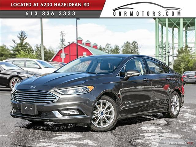 2017 Ford Fusion Hybrid SE (Stk: 5691) in Stittsville - Image 1 of 29