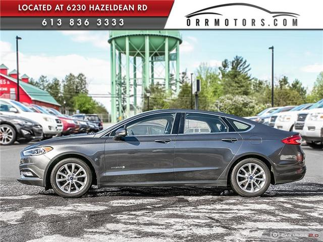 2017 Ford Fusion Hybrid SE (Stk: 5691) in Stittsville - Image 3 of 29