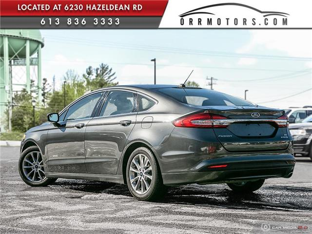 2017 Ford Fusion Hybrid SE (Stk: 5691) in Stittsville - Image 4 of 29