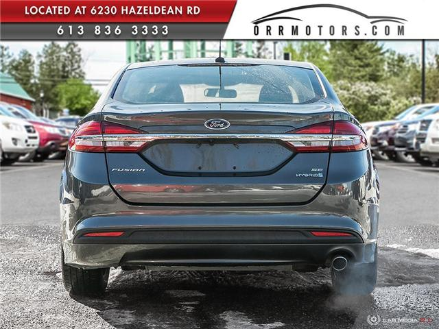 2017 Ford Fusion Hybrid SE (Stk: 5691) in Stittsville - Image 5 of 29