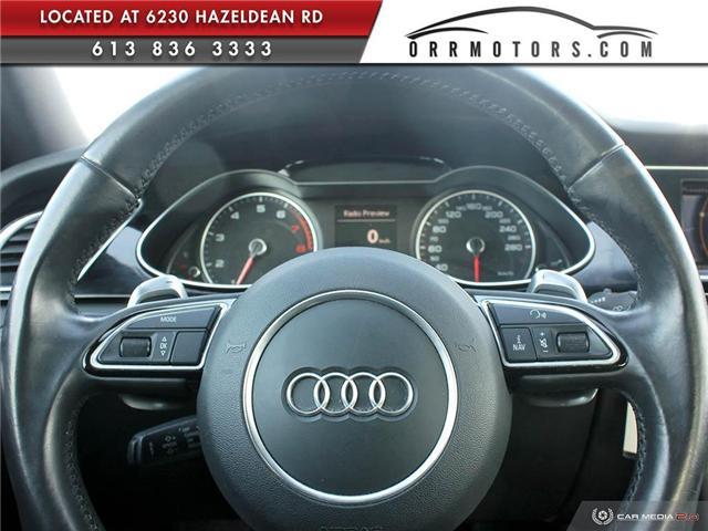 2016 Audi A4 2.0T Komfort plus (Stk: 5678) in Stittsville - Image 13 of 28