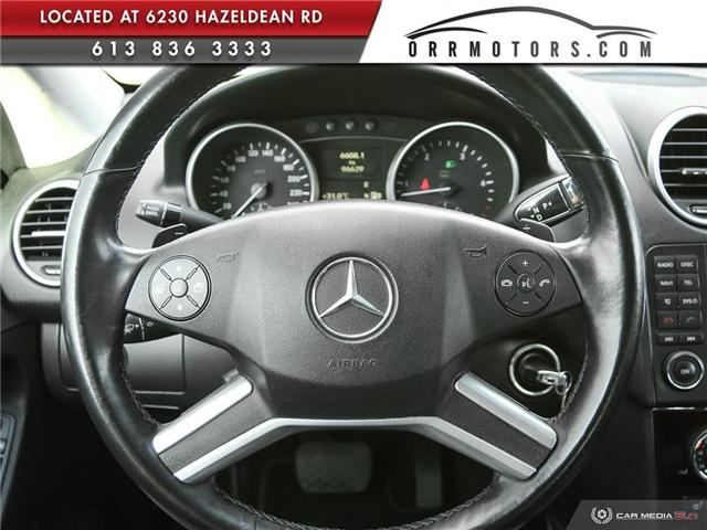 2010 Mercedes-Benz M-Class Base (Stk: 5360) in Stittsville - Image 13 of 27