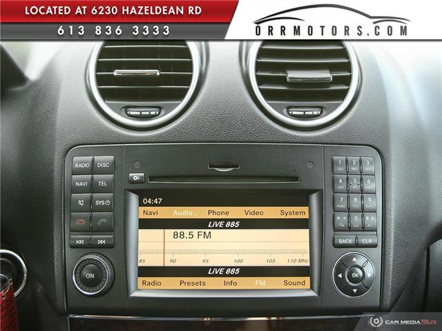 2010 Mercedes-Benz M-Class Base (Stk: 5360) in Stittsville - Image 20 of 27