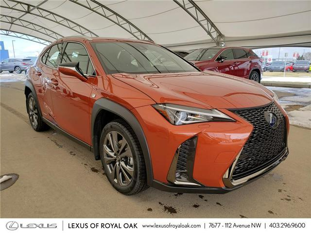 2019 Lexus UX 250h Base (Stk: L19456) in Calgary - Image 1 of 5