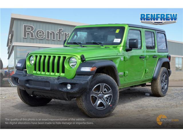 2019 Jeep Wrangler Unlimited Sport (Stk: K220) in Renfrew - Image 2 of 20