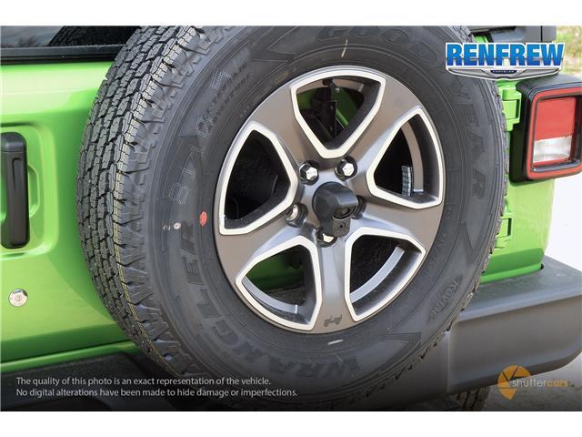 2019 Jeep Wrangler Unlimited Sport (Stk: K220) in Renfrew - Image 5 of 20