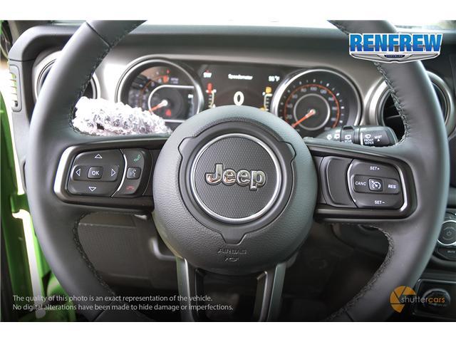 2019 Jeep Wrangler Unlimited Sport (Stk: K220) in Renfrew - Image 10 of 20
