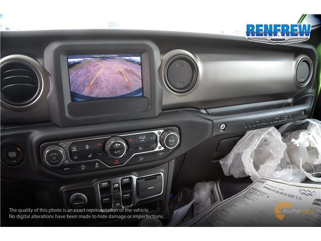 2019 Jeep Wrangler Unlimited Sport (Stk: K220) in Renfrew - Image 11 of 20