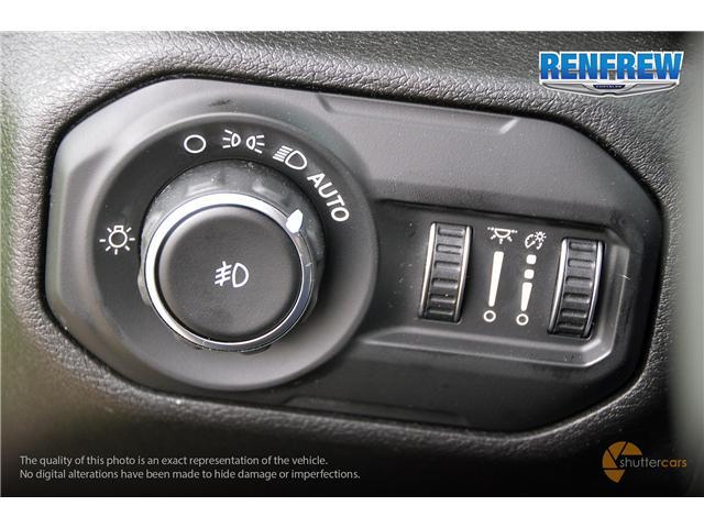2019 Jeep Wrangler Unlimited Sport (Stk: K220) in Renfrew - Image 20 of 20