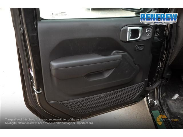 2019 Jeep Wrangler Unlimited Sport (Stk: K229) in Renfrew - Image 9 of 20