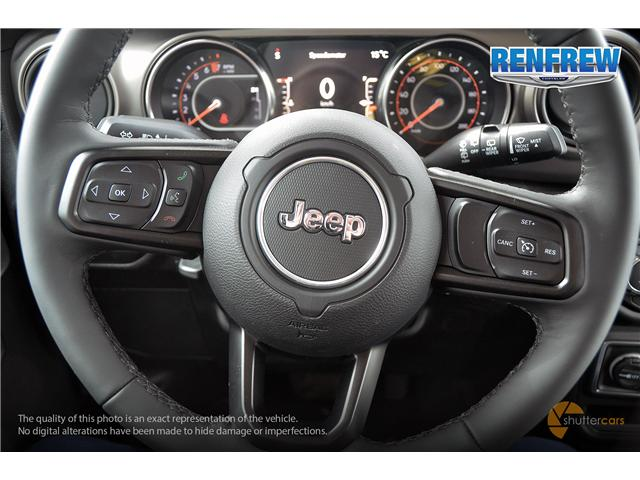 2019 Jeep Wrangler Unlimited Sport (Stk: K229) in Renfrew - Image 12 of 20