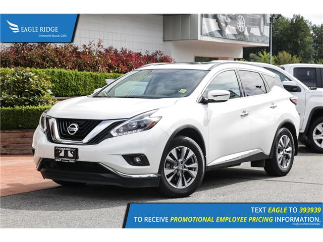 2018 Nissan Murano SV (Stk: 189473) in Coquitlam - Image 1 of 18