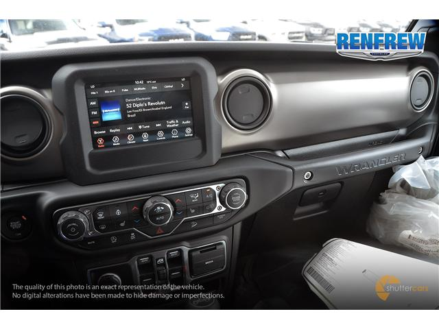 2019 Jeep Wrangler Unlimited Sport (Stk: K229) in Renfrew - Image 13 of 20