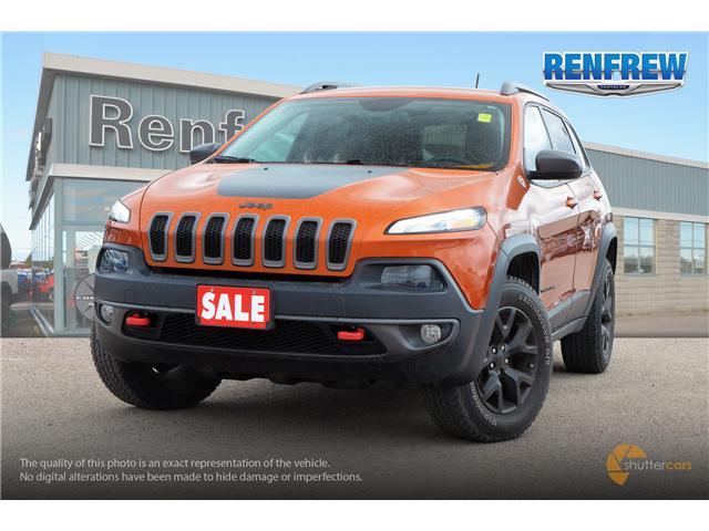 2015 Jeep Cherokee Trailhawk (Stk: P1681A) in Renfrew - Image 1 of 20