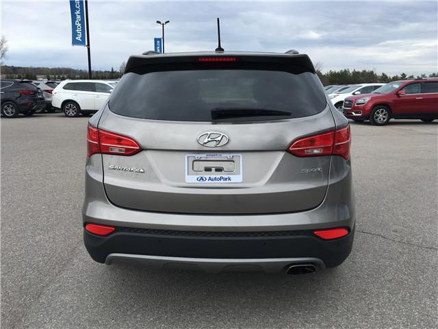 2016 Hyundai Santa Fe Sport 2.4 Base (Stk: 16-34401JB) in Barrie - Image 6 of 27