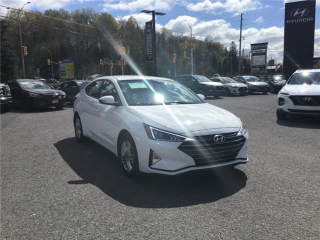 2019 Hyundai Elantra Preferred (Stk: P3291) in Ottawa - Image 1 of 11