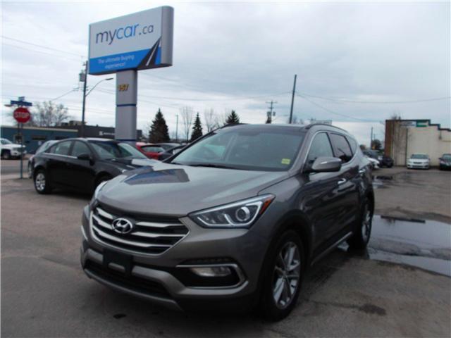 2017 Hyundai Santa Fe Sport 2.0T Limited (Stk: 181983) in North Bay - Image 2 of 15