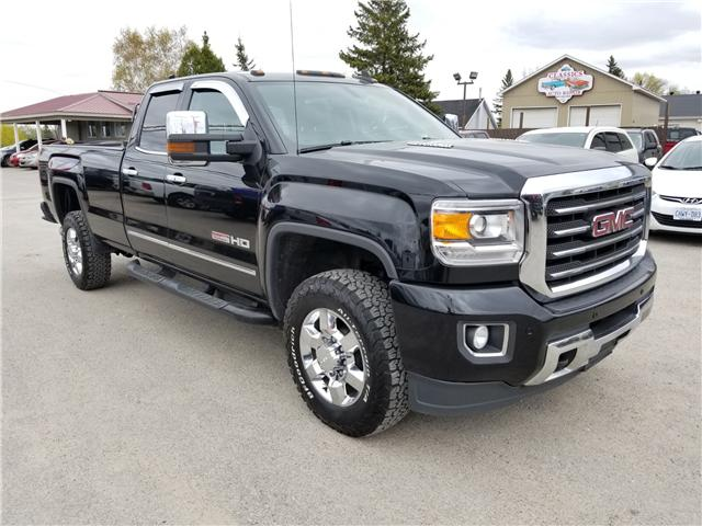 2015 GMC Sierra 2500HD SLT (Stk: ) in Kemptville - Image 1 of 18