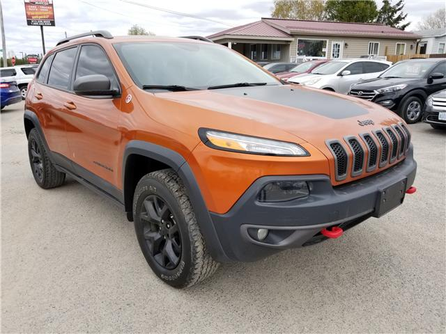 2015 Jeep Cherokee Trailhawk (Stk: ) in Kemptville - Image 1 of 20