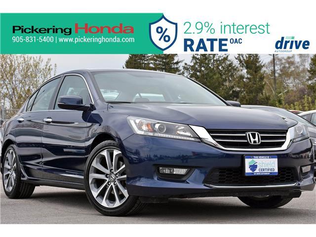 2015 Honda Accord Sport (Stk: P4867) in Pickering - Image 1 of 31