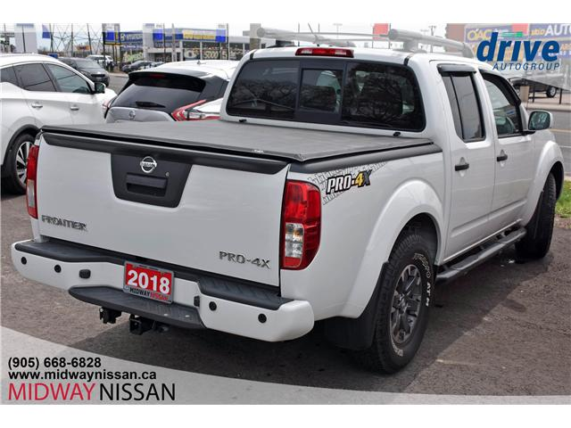 2018 Nissan Frontier PRO-4X (Stk: U1662) in Whitby - Image 10 of 35