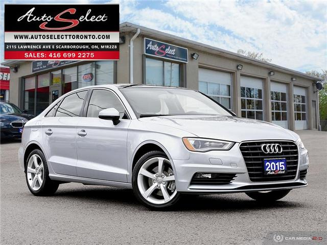 2015 Audi A3  (Stk: 1A3TL2Q) in Scarborough - Image 1 of 28