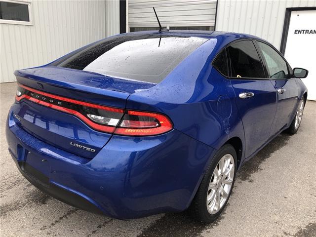 2013 Dodge Dart Limited/GT (Stk: 10500) in Fort Macleod - Image 4 of 20
