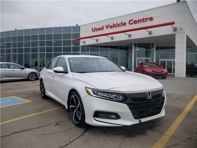 2018 Honda Accord Sport (Stk: 2180103D) in Calgary - Image 1 of 30