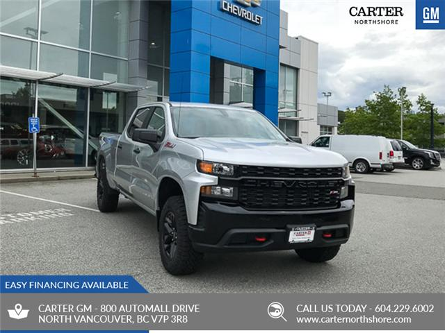 2019 Chevrolet Silverado 1500 Silverado Custom Trail Boss (Stk: 9L78180) in North Vancouver - Image 1 of 13