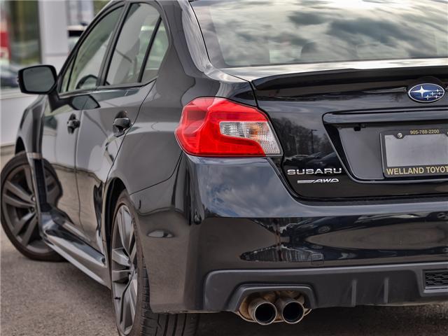 2016 Subaru WRX Sport-tech Package (Stk: P3400) in Welland - Image 8 of 23