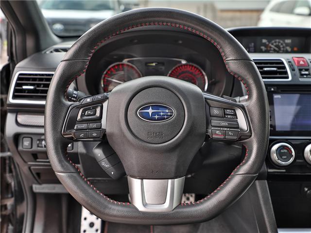 2016 Subaru WRX Sport-tech Package (Stk: P3400) in Welland - Image 15 of 23