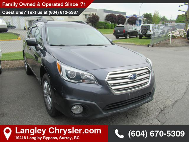 2015 Subaru Outback 2.5i (Stk: EE908960A) in Surrey - Image 1 of 1