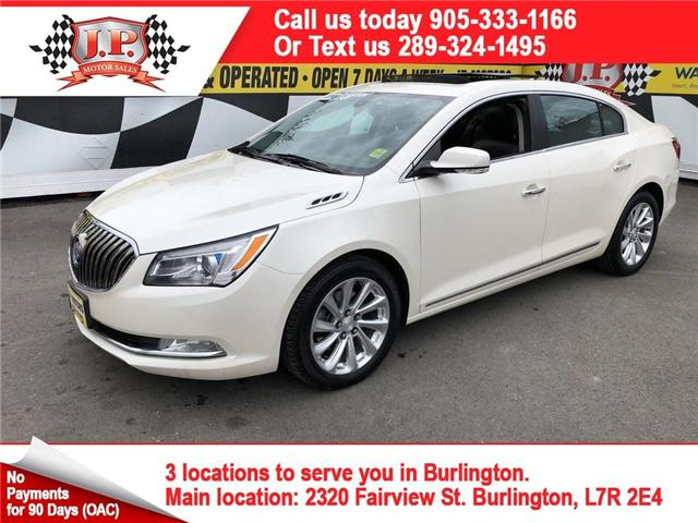 2014 Buick LaCrosse Leather (Stk: 46688A) in Burlington - Image 1 of 27