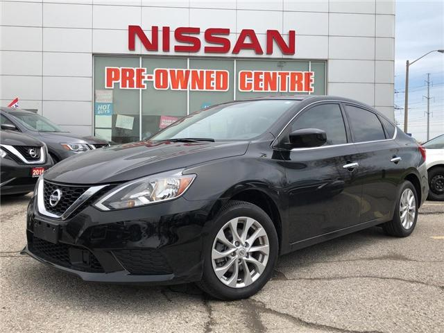 2018 Nissan Sentra 1.8 SV Midnight Edition (Stk: U3020A) in Scarborough - Image 1 of 23