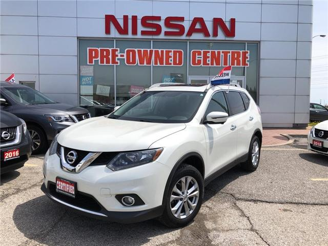 2016 Nissan Rogue SV (Stk: U3037) in Scarborough - Image 1 of 24