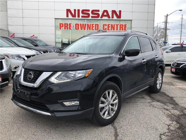 2018 Nissan Rogue SV-TECH-SUNROOF-NAVIGATION- (Stk: M10217A) in Scarborough - Image 1 of 21