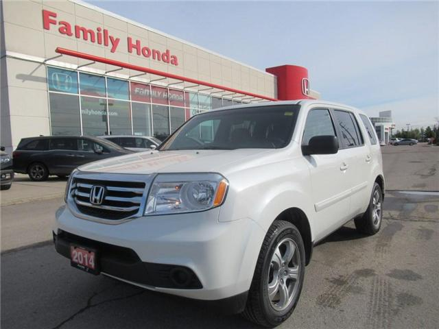 2014 Honda Pilot LX, BACK UP CAM, BLUETOOTH! (Stk: 9800064A) in Brampton - Image 1 of 29