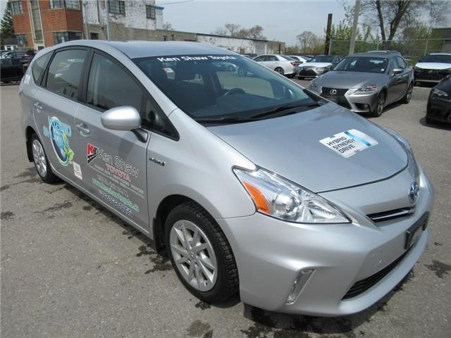 2012 Toyota Prius v Base (Stk: 6520X) in Toronto - Image 1 of 25